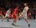 08.06.2013, Handball;  MT Melsungen; HSV Hamburg; v.l. HSV 4  Domagoj Duvnjak, MT 7 Daniel Kubes, HSV 2 Michael Kraus