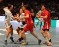 08.06.2013,  MT Melsungen , Hamburg; Handball vl HSV 19 Stefan Terzic; HSV 21 Andreas Nilsson; MT; MT
