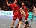 08.06.2013,  MT Melsungen , Hamburg; vl MT 7  Daniel Kubes; HSV 21 Andreas Nilsson; MT