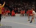 08.06.2013,  MT Melsungen; HSV Hamburg; Handball; v.l. MMT 1 Mikael Alf Appelgren; MT 7 Daniel Kubes;  HSV 18 Hans Lindberg