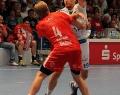 08.06.2013,  MT Melsungen; HSV Hamburg; Handball; v.l. MT 4 Anton Mansson; HSV 19 Stefan Terzic